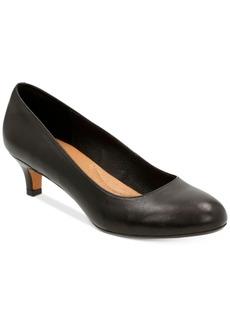 Clarks Artisan Women's Heavenly Shine Kitten-Heel Pumps Women's Shoes