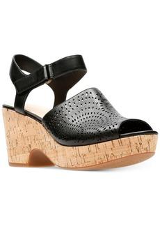 Clarks Artisan Women's Maritsa Nila Wedge Sandals Women's Shoes
