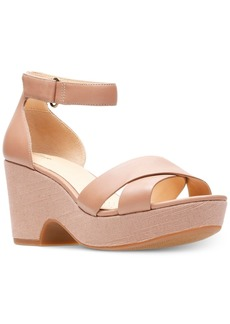 Clarks Artisan Women's Maritsa Ruth Wedge Sandals Women's Shoes