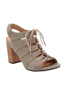 Clarks Banoy Waneta Leather Cutout Sandals