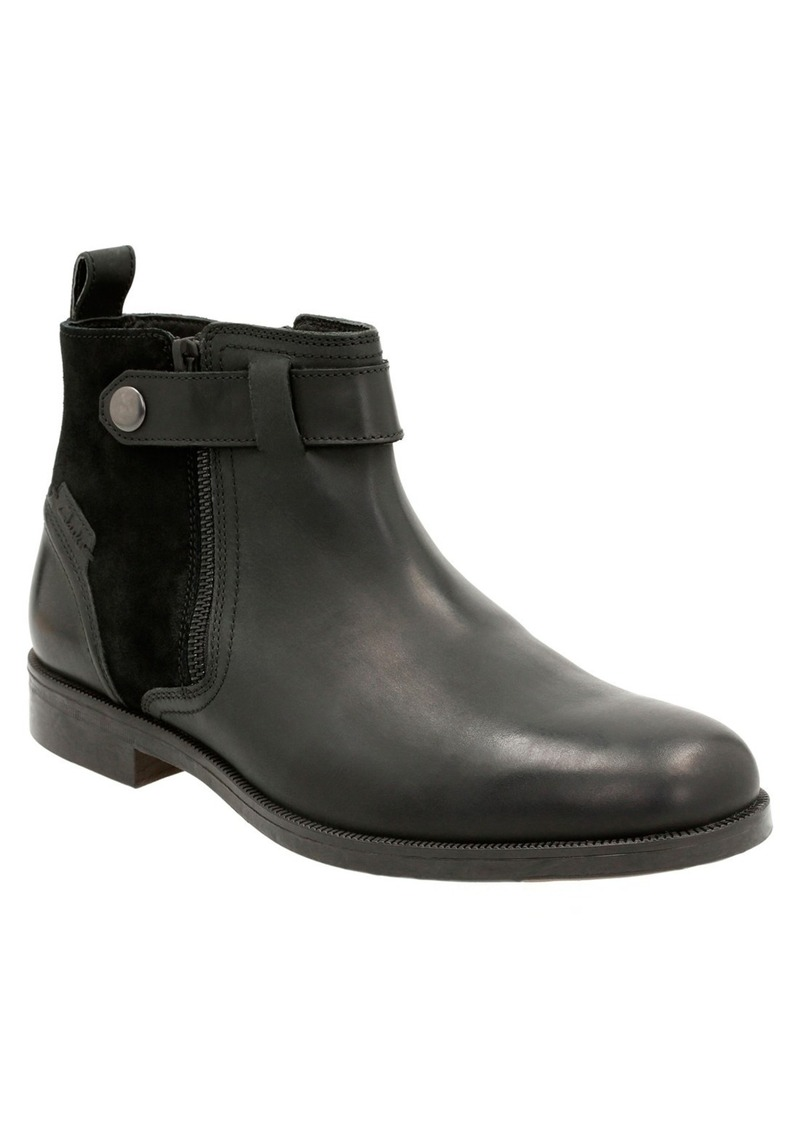 Clarks® 'Brocton Mid' Zip Boot (Men)