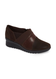 Clarks® Caddell Denali Ankle Loafer (Women)