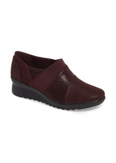 Clarks® Caddell Denali Ankle Loafer (Women)