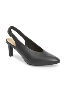 Clarks® Calla Violet Kitten Heel Pump (Women)