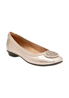 Clarks® 'Candra Blush' Flat (Women)