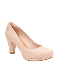 Clarks® 'Chorus Chic' Round Toe Pump (Women)