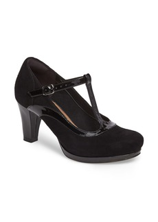 Clarks® Chorus Pitch T-Strap Pump (Women)