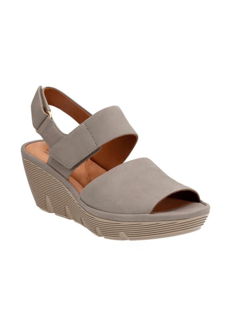 b5ecba69bfb SALE! Clarks Clarks® Clarene Allure Wedge Platform Sandal (Women)