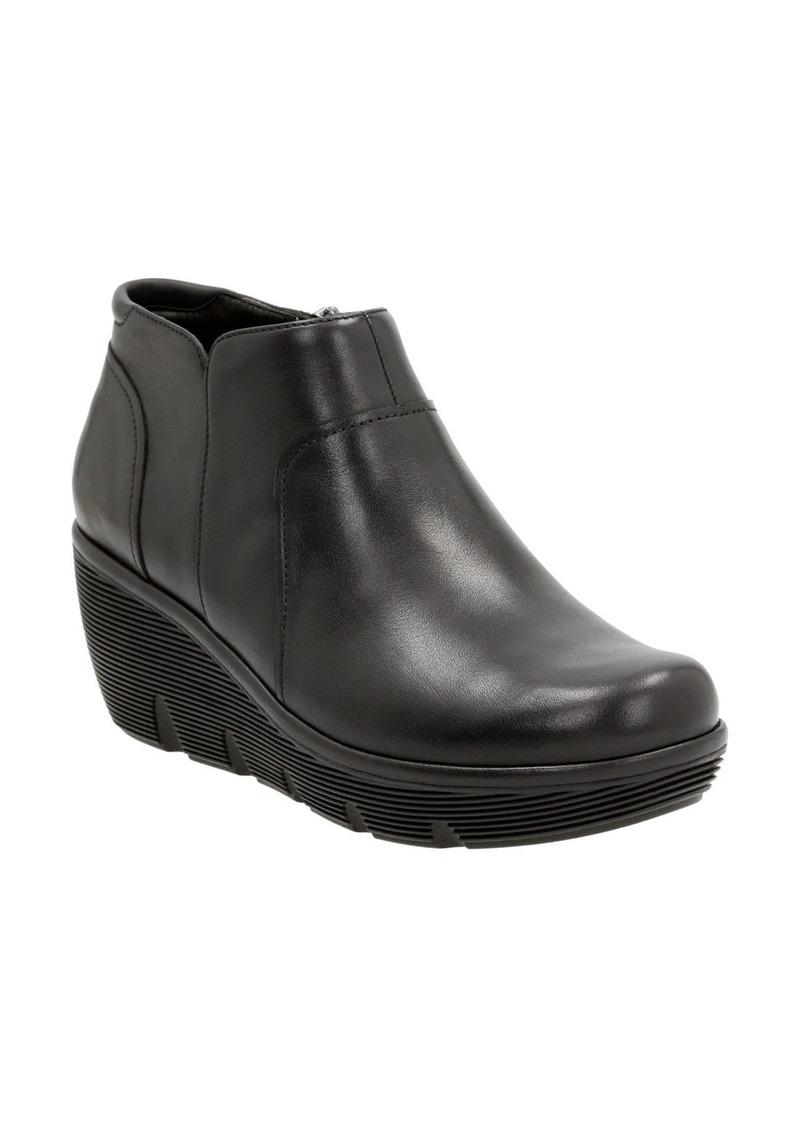 Clarks® 'Clarene Sun' Wedge Boot (Women)