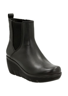 Clarks® 'Clarene Surf' Wedge Chelsea Boot (Women)