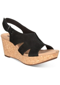 Clarks Collection Women's Annadel Bari Wedge Sandals Women's Shoes