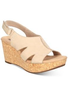 Clarks Collection Women's Annadel Bari Wedge Sandals Women's Shoes