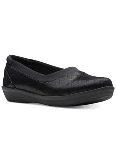 Clarks Collection Women's Ayla Pure Cloudsteppers Flats, Created for Macy's Women's Shoes