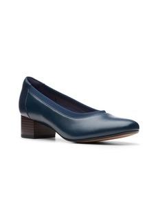 Clarks Collection Women's Chartli Fame Block-Heel Pumps Women's Shoes