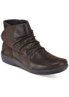Clarks Collection Women's Cloud Steppers Sillian Chell Booties Women's Shoes