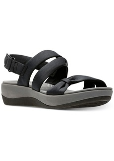 Clarks Collection Women's Cloudsteppers Arla Mae Wedge Sandals Women's Shoes