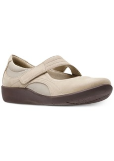 Clarks Collection Women's Cloudsteppers Sillian Bella Mary Jane Flats Women's Shoes