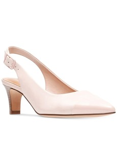 Clarks Collection Women's Crewso Emmy Slingback Pumps Women's Shoes