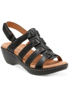 Clarks Collection Women's Delana Maloren Flat Sandals Women's Shoes