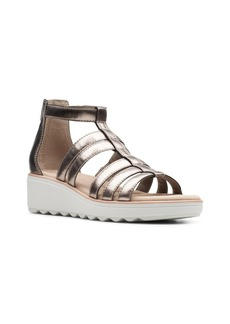 Clarks Collection Women's Jillian Nina Wedge Sandals Women's Shoes