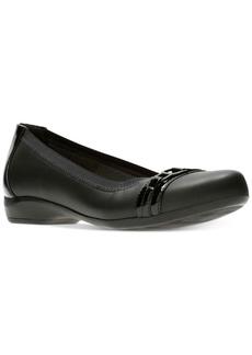 Clarks Collection Women's Kinzie Light Flats Women's Shoes