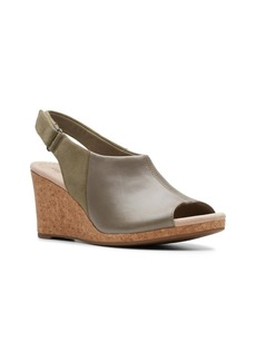 Clarks Collection Women's Lafely Jess Wedge Sandals Women's Shoes