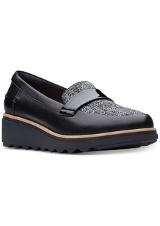 Clarks Collection Women's Sharon Gracie Platform Loafers, Created for Macy's Women's Shoes