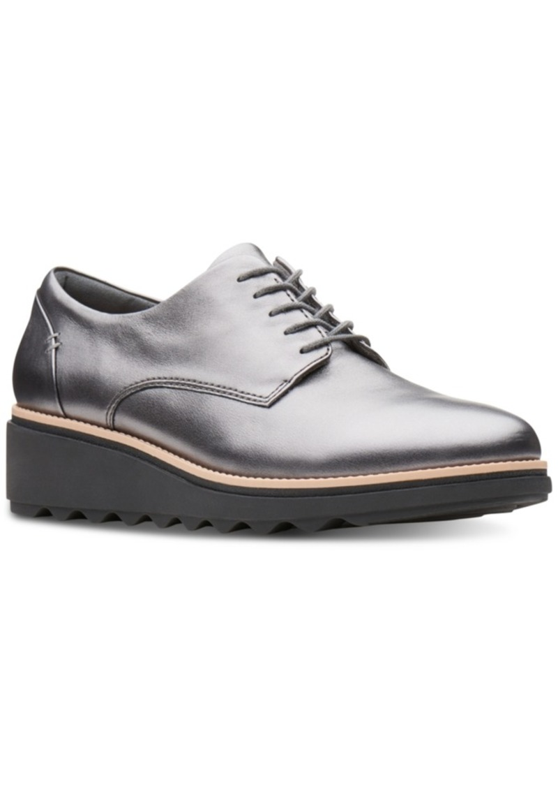 60b2217895f Platform Oxford ShoesBuckled Platform Oxfords Details
