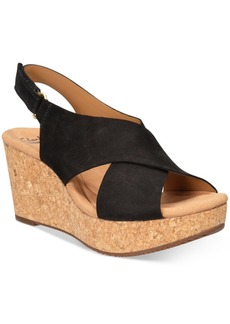 Clarks Collections Women's Annadel Eirwyn Wedge Sandals Women's Shoes