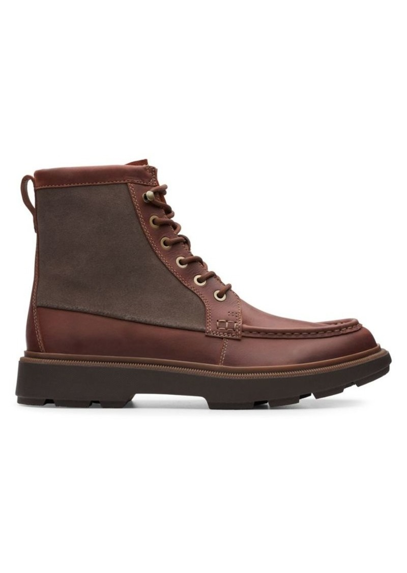 Clarks Dempsey Leather Boots