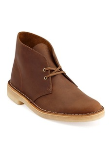 Clarks Desert Leather Chukka Boots