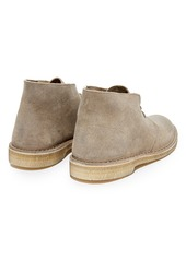 Clarks Distressed Suede Desert Boots