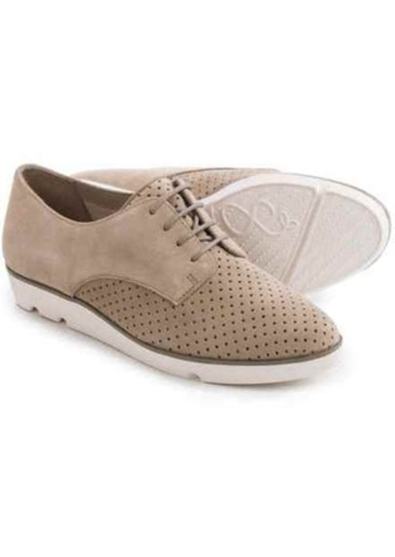 Clarks Evie Bow Suede Shoes - Lace-Ups (For Women)