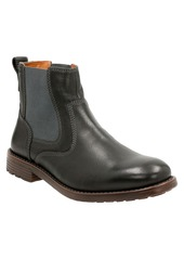 Clarks® 'Faulkner On' Chelsea Boot (Men)