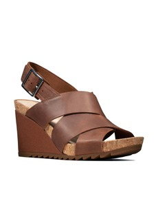 Clarks® Flex Platform Wedge Sandal (Women)