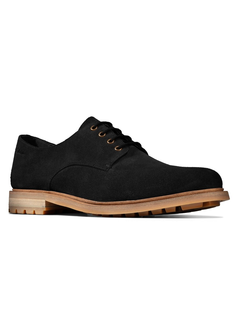 Clarks® Foxwell Hall Plain Toe Derby (Men)