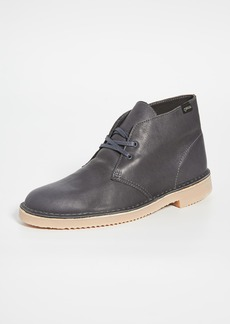 Clarks Goretex Leather Desert Boots