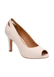 Clarks® Heavenly Maze Peep Toe Pump (Women)