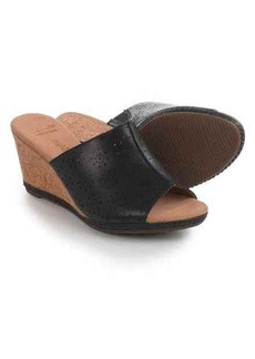 Clarks Helio Corridor Wedge Sandals - Leather (For Women)