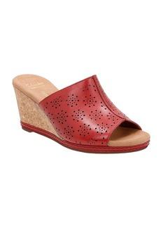 """Clarks® """"Helio Corridor"""" Wedge Sandals"""