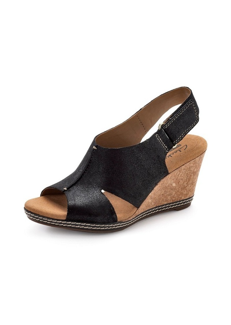 """Clarks® """"Helio Float"""" Casual Wedges"""