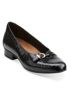 Clarks Keesha Raine Patent Leather Loafers