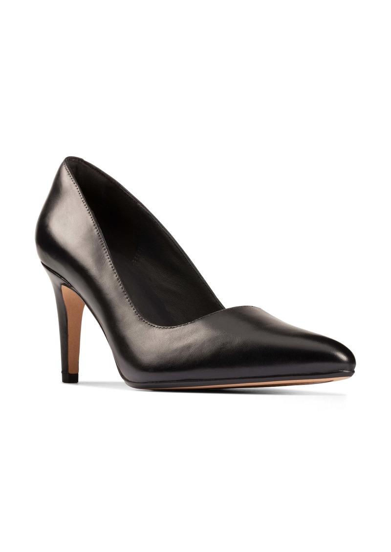 Clarks® Laina Rae Pointed Toe Pump (Women)