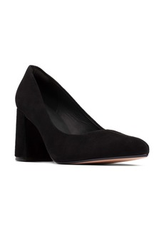 Clarks® Laina85 Block Heel Pump (Women)