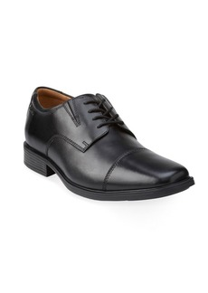 Clarks Leather Cap Toe Shoes