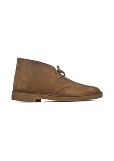 Clarks Light Brown Suede Desert Boots
