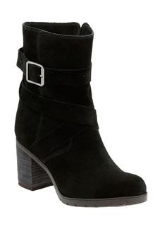 Clarks® 'Malvet Doris' Moto Boot (Women)