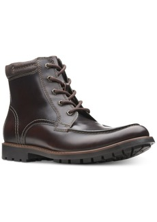 Clarks Men's Currington High Leather Boots Men's Shoes