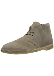 Clarks Mens Desert Boot Taupe Distressed Boots M7 D(M) US