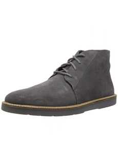 Clarks Men's Grandin Mid Boot grey suede 080 M US